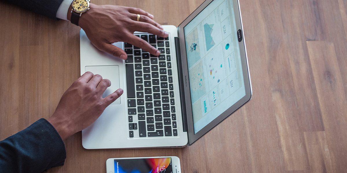 Laptop hands graphs